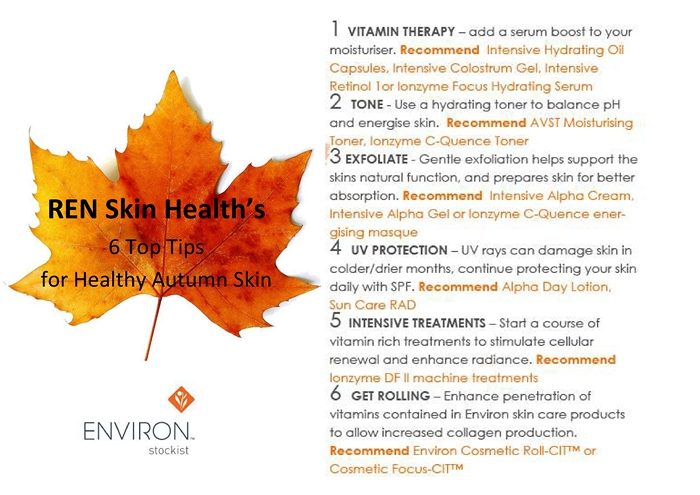 Autumn Skin Tips